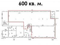 аренда 600 кв.м,, планировка