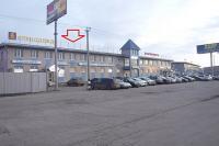 здание, парковка