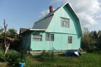Двухэтажный дом в СНТ