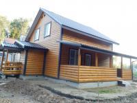 Загородный дом крайний к лесу Наро-Фоминск   60 км от МКАД по Киевскому шоссе.