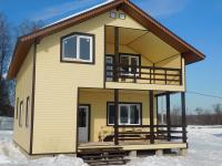 Межозерье. Новый коттедж  ( дом ) для ПМЖ в деревне у озера