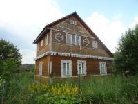 дом около Рузского водохранилища