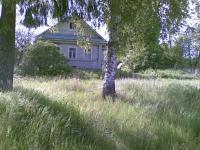 Бревенчатый дом в тихой деревне по Новорижскому ш. Речка, лес. 16 соток