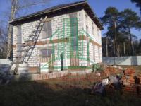 Новый дом в городе Озёры Московской области.