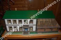 дом в ОКП Новоглаголево в 35 км от МКАД по Киевскому направлению лот 23