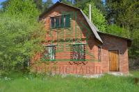 Продается двухэтажный дачный дом на окраине г.Озеры, СНТ «Дорожник».