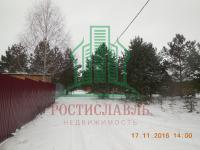 Земельный участок для дачного дома в СНТ «Изумрудный». Озерский район Моск.обл.