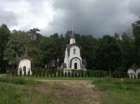Участки д. Попово, лес, река лопасня